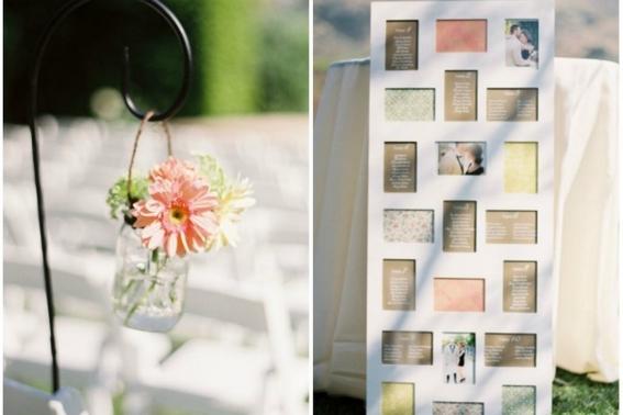 Tablica rozmieszczenia gości na weselu - zainspiruj swój ślub!