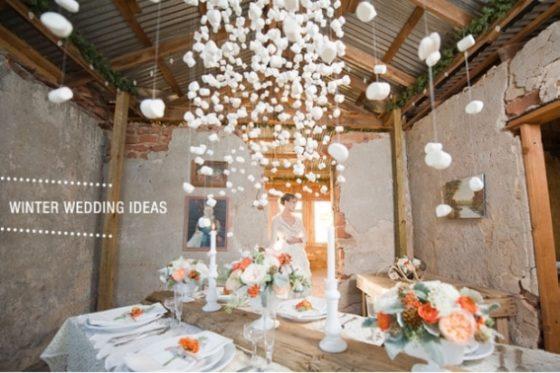 Zimowy ślub i wesele - pomysły i inspiracje na ślub zimą - agencja ślubna - konsultanci ślubni Winsa - blog ślubny