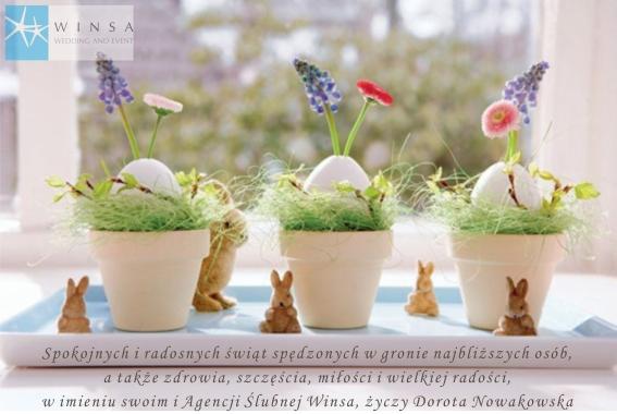 Życzenia na Wielkanoc - Agencja Ślubna Winsa