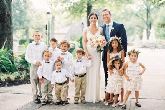 Dzieci na ślubie i weselu, małe druhenki i mali drużbowie, Winsa