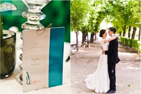 ślub W Wiedniu Z Motywem Miłość I Szmaragdu Piękna Realizacja