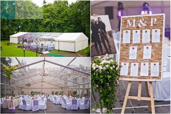Ślub plenerowy, wesele plenerowe, wesele pod namiotem, agencja ślubna Winsa