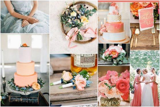 Trendy ślubne - śluby i wesela 2016, dekoracje ślubne 2016, kwiaty do ślubu 2016