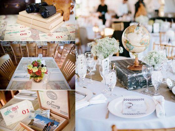 Ślub i wesele z motywem podróży, motyw przewodni wesela, Winsa Wedding Planner