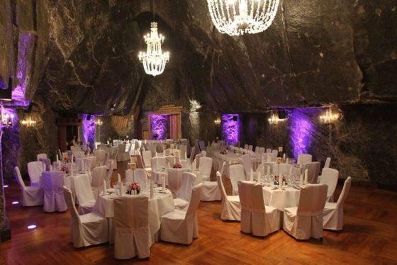Ślub w Kopalni Soli w Wieliczce, Wedding in Salt Mine Wieliczka, Winsa Wedding Planner in Krakow