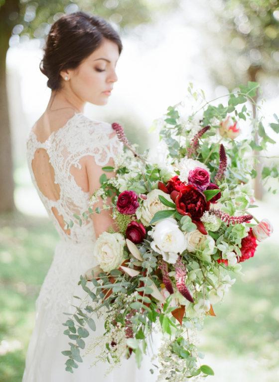 Suknia ślubna w stylu vinta