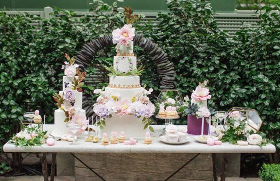 Modne Torty weselne 2017, trendy ślubne 2017, Torty na wesele inspiracje