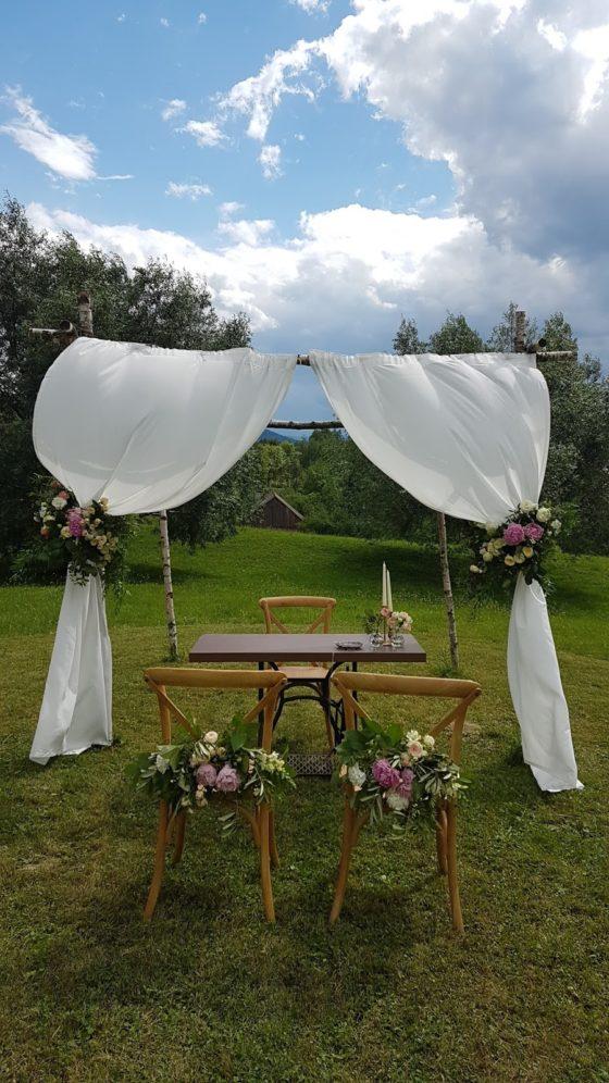 Ślub w Dolinie Cedronu, Ślub w plenerze, Dekoracje ślubu w Planerze, Winsa Wedding Planners