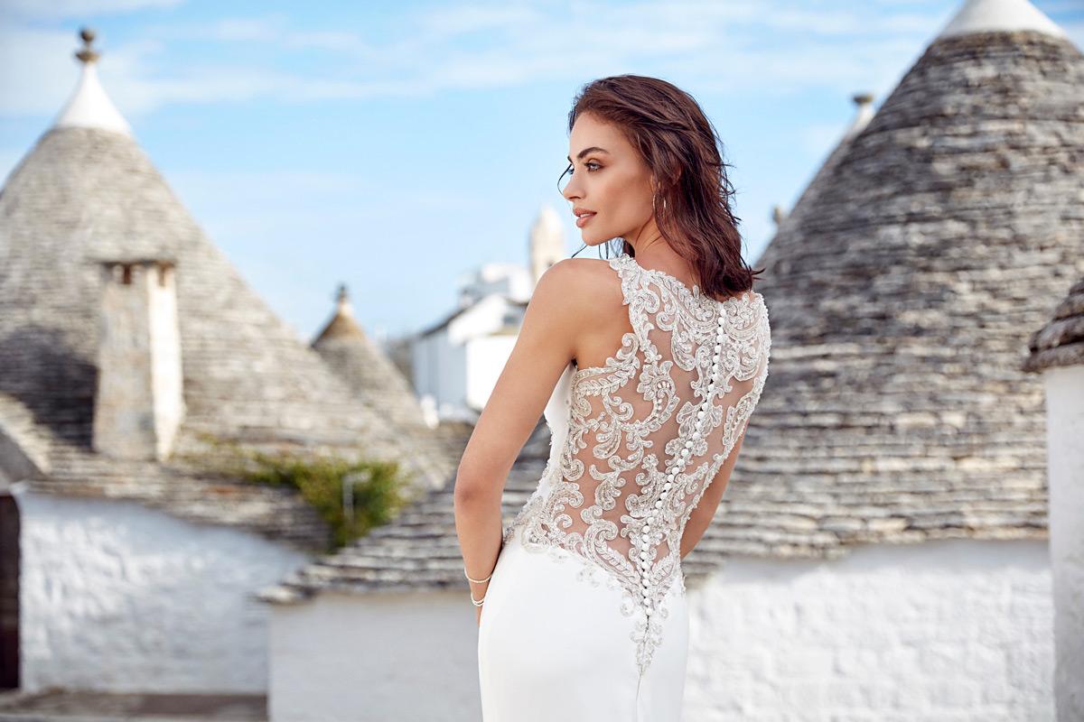 Suknie Ślubne 2018, Trendy ślubne 2018, Eddy K Italia Wedding Dress 2018