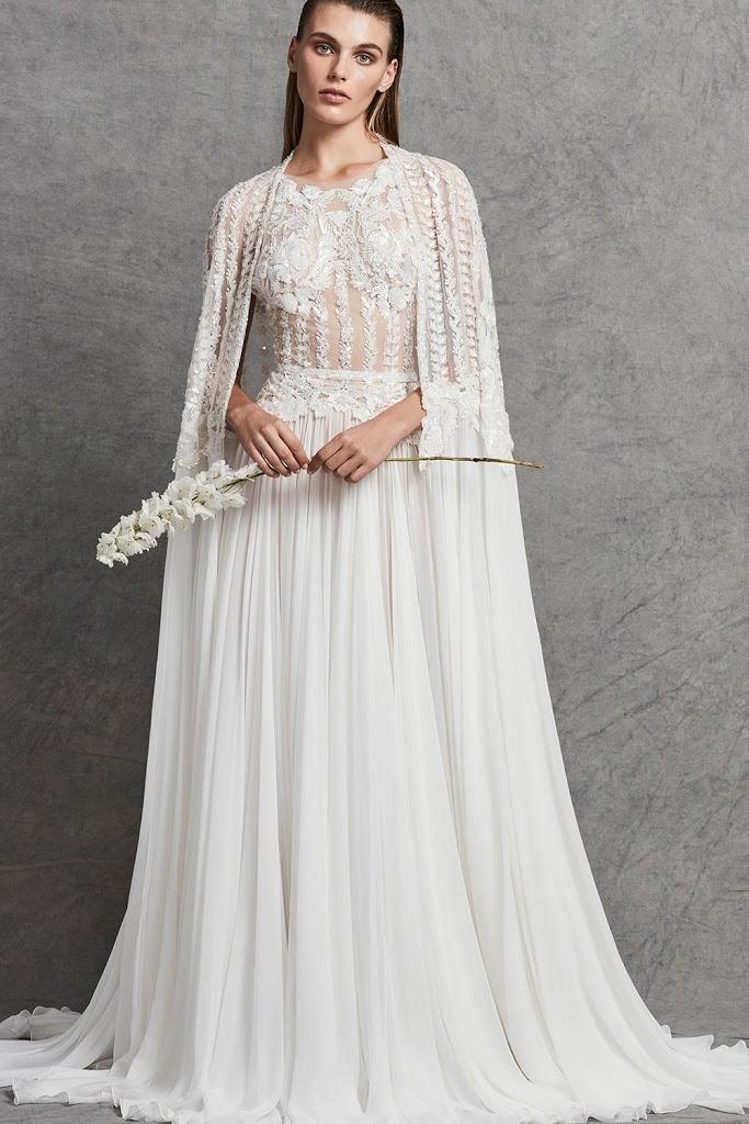 Zahair Murad suknie ślubne, Najpiękniejsze suknie ślubne 2018, Suknie ślubne znanych projektantów, Trendy ślubne 2018, Modna Panna Młoda, Panna Młoda 2018, Wedding Dress 2018, Modna suknie ślubne, Panna Młoda ubiór