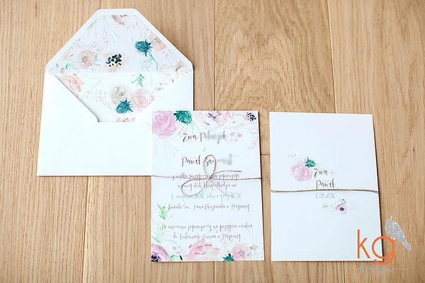 Najpiękniejsze polskie zaproszenia ślubne, zaproszenia na ślub, oryginalne zaproszenia ślubne, Papeteria ślubna, Zaproszenia z kaligrafią