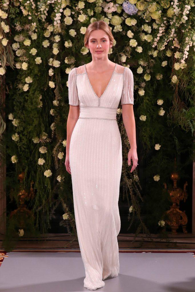 Jenny Packham bridal 2019 suknie ślubne 2019 trendy slubne 2019 moda slubna 2019 Panna Mloda