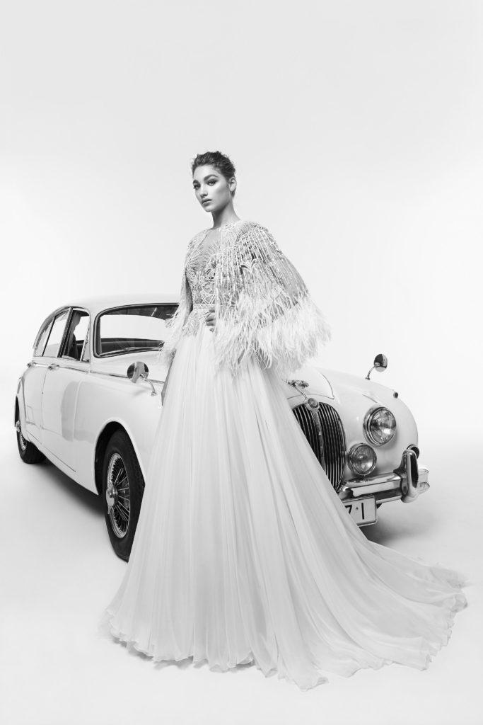 Zahair Murad bridal 2019 Suknie ślubne 2019 śluby 2019 trendy ślubne 2019 panna młoda szczególy ślubne suknia ślubna modne suknie ślubne projektanci suknie ślubnych inspiracje ślubne blog ślubny moda ślubna