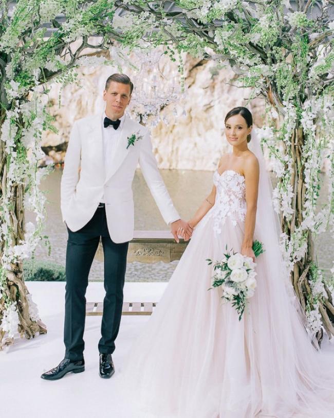 Luksusowe wesele w Grecji Marina i Wojciech Szczęsny